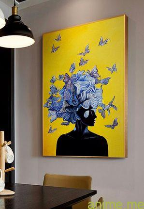 Inspiration Wall Artwork Btterfly Canvas Concepts Summary Prints For Front Room Decor Anime Blog