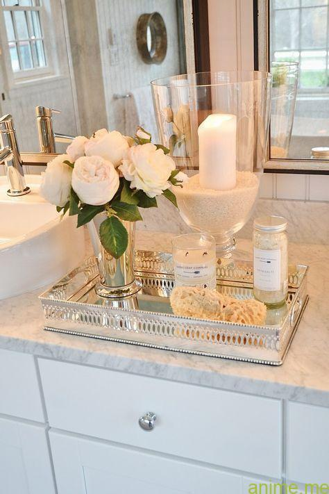 Counter Decor to Create a Spa Atmosphere                                        ...